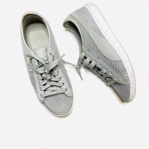 Puma Gray Mesh Sneakers